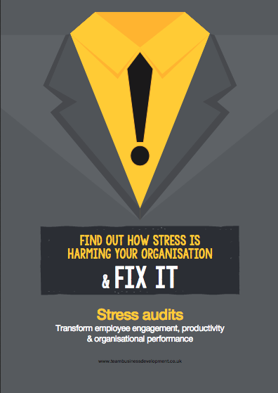 Stress audits find the obstacles to employee engagement